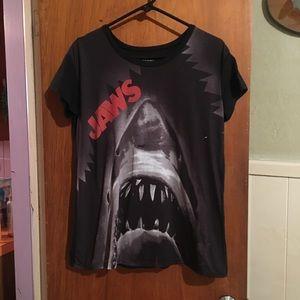 JAWS tee sz L